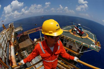 Plenty of oil and gas in the South China Sea.