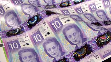 Civil rights activist Viola Desmond on Canada's $10 bill