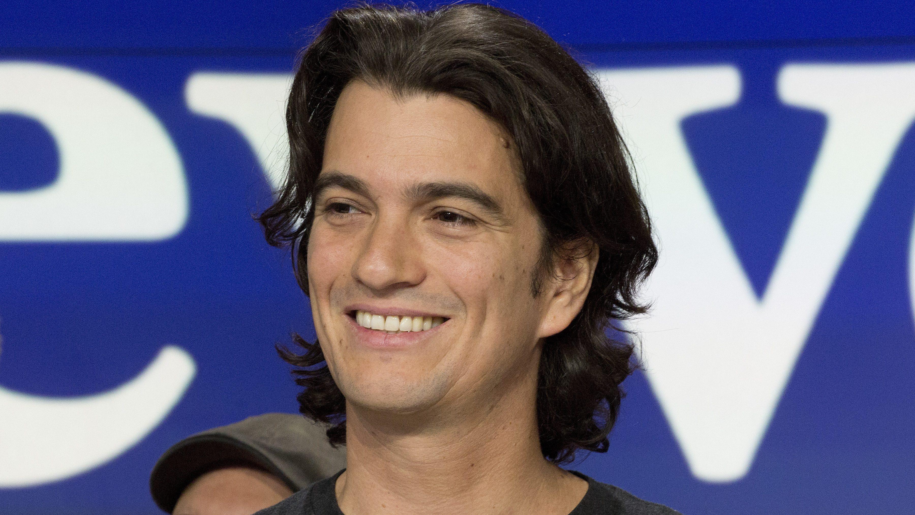 WeWork co-founder and CEO Adam Neumann