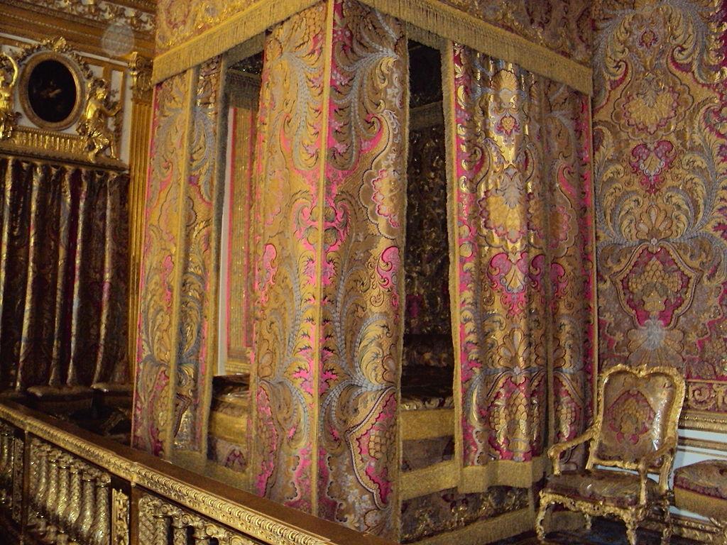 The bedchamber of Louis XIV