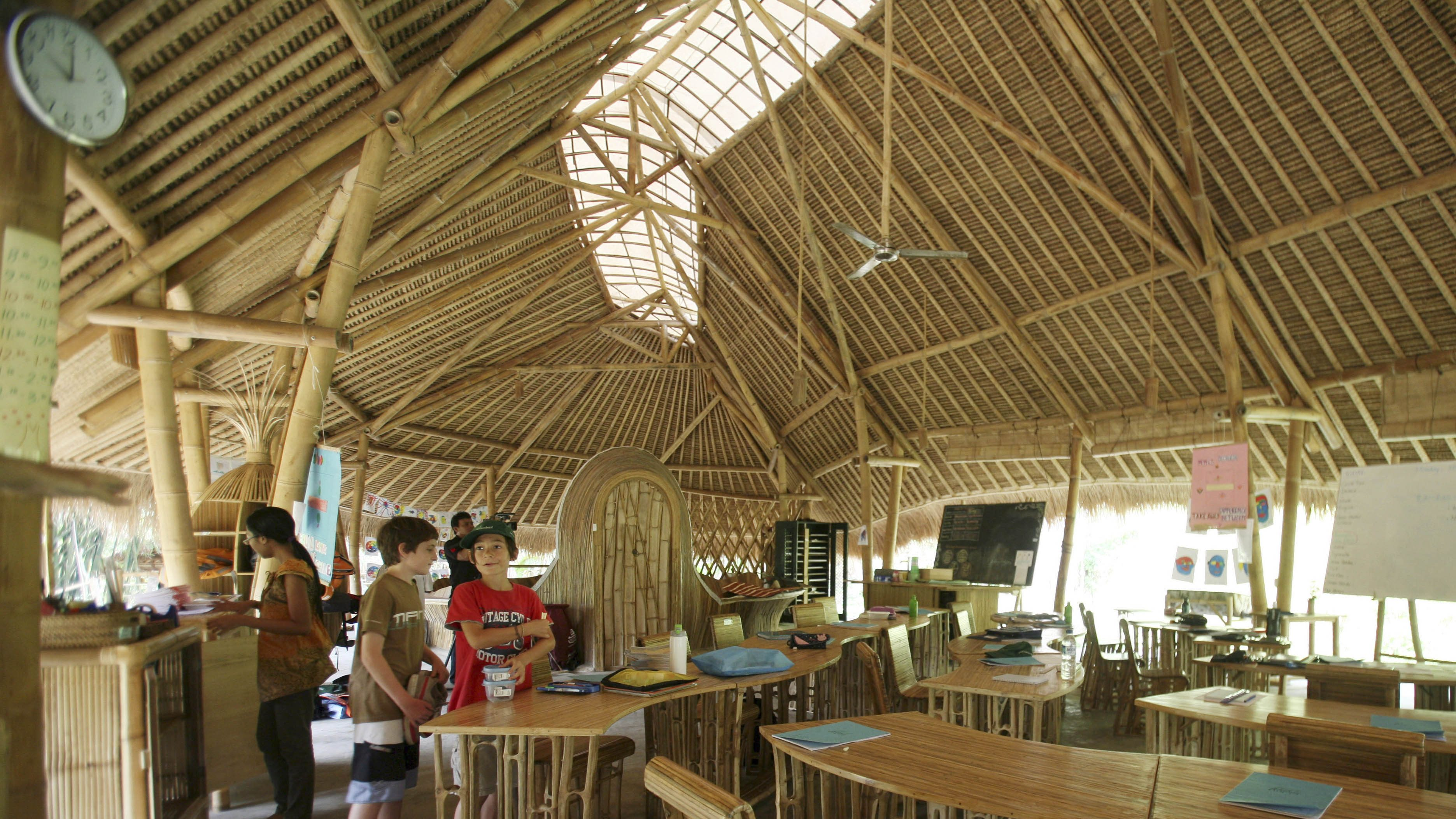 Bali's Green School is leading a renaissance of bamboo architecture