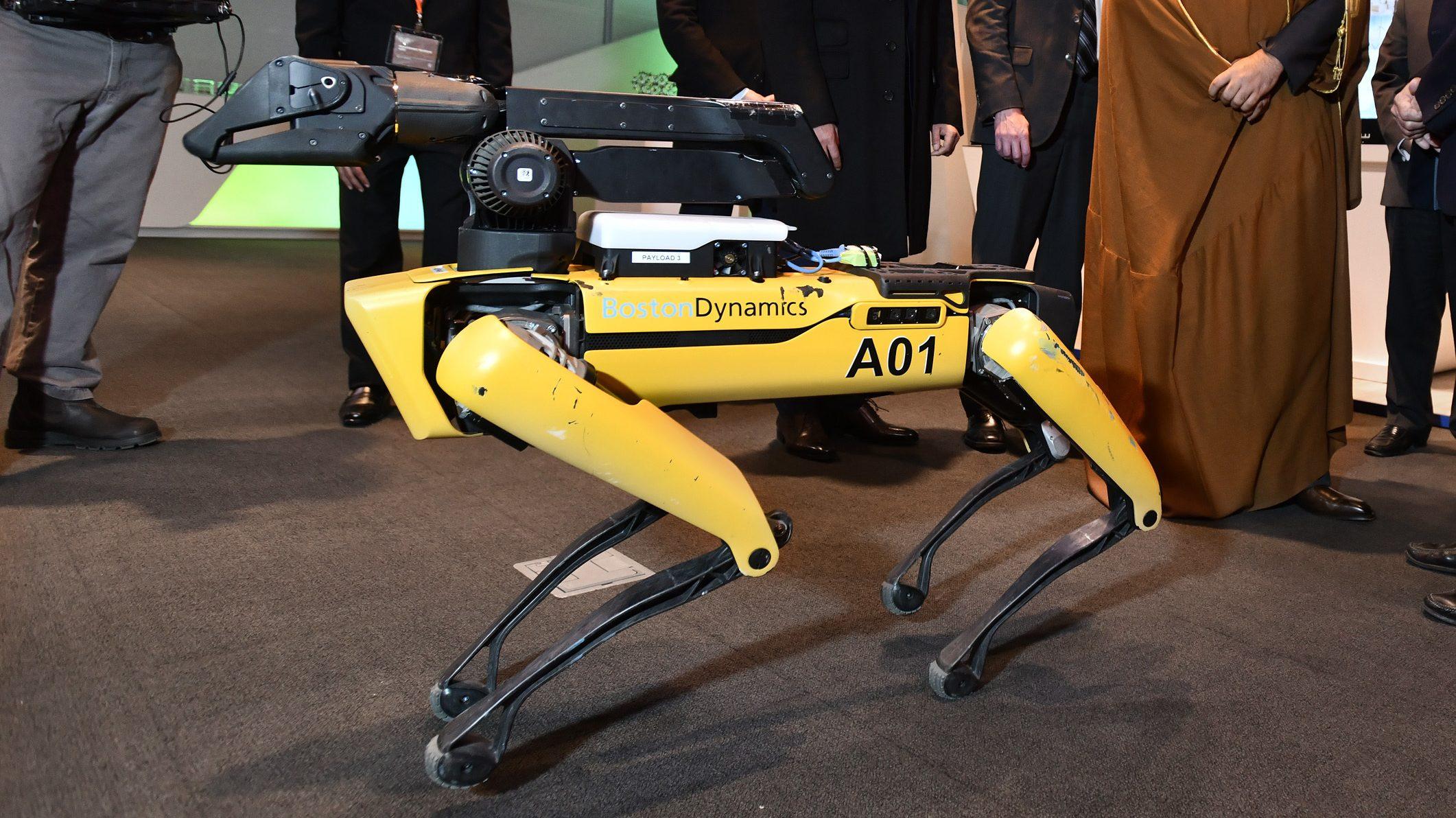 Boston Dynamics's Spot robot.