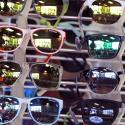 Sunglasses displayed for sale