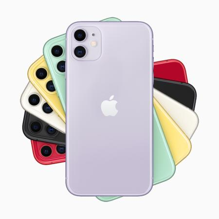 The iphone 11 color options