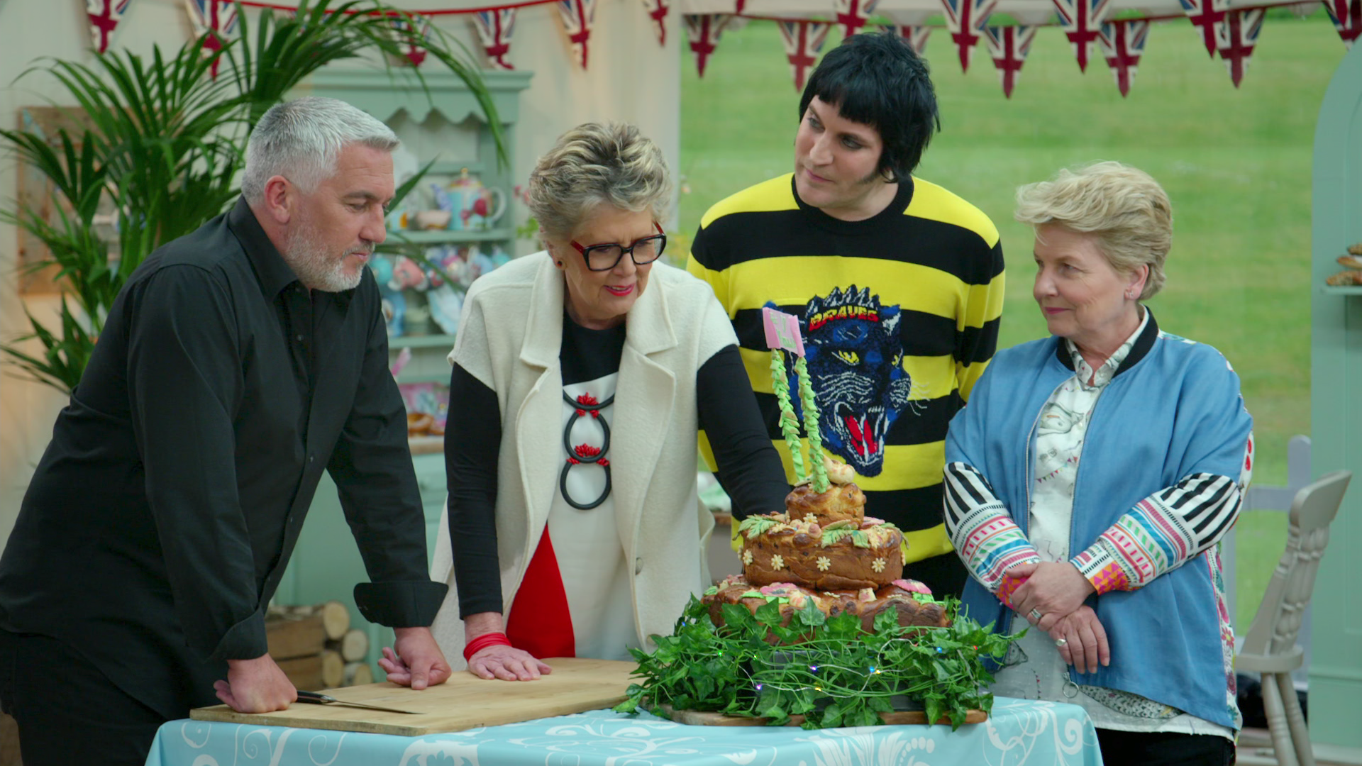 """The Great British Baking Show"" is back."