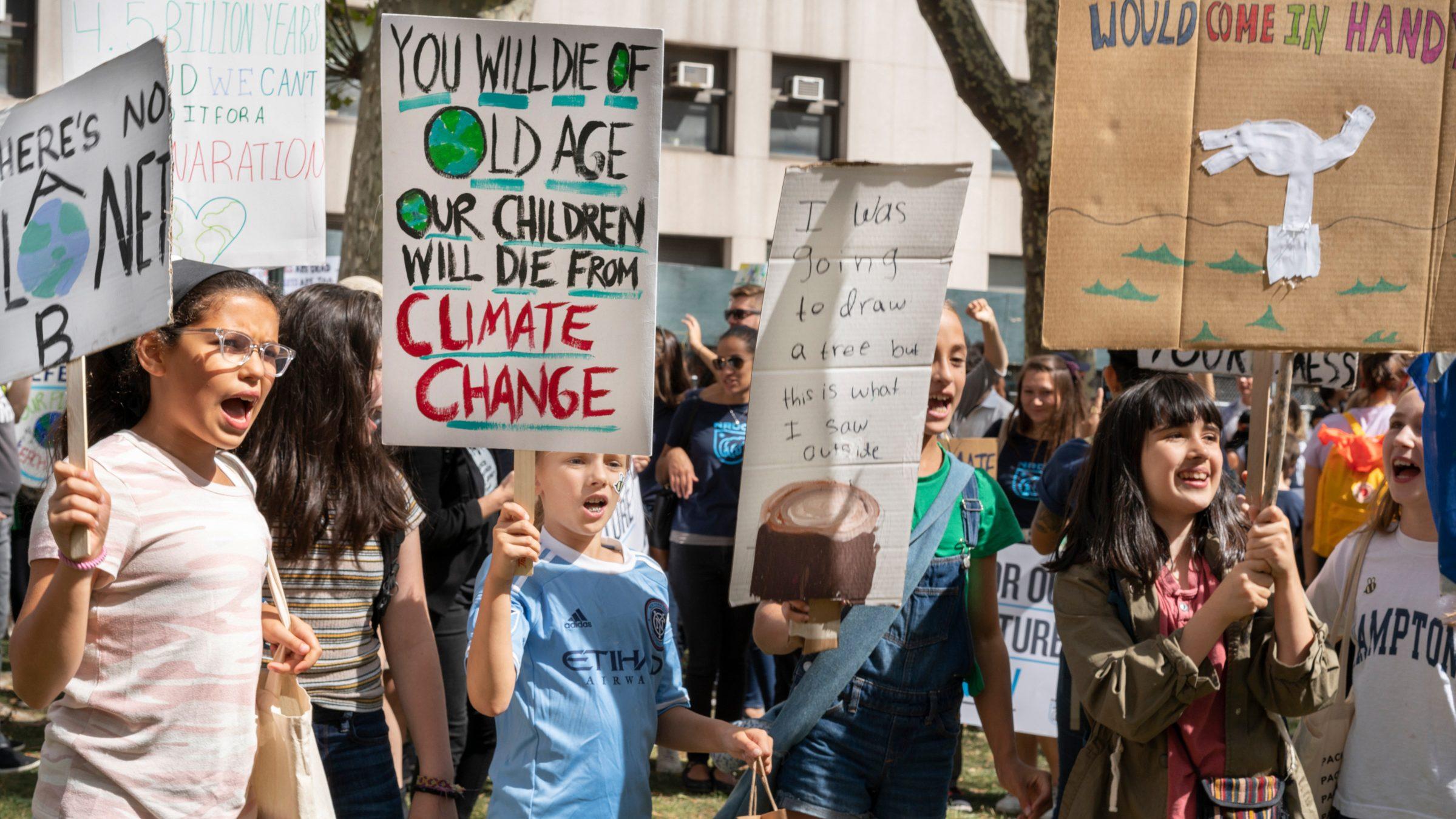 Young girls lead climate action — Quartz