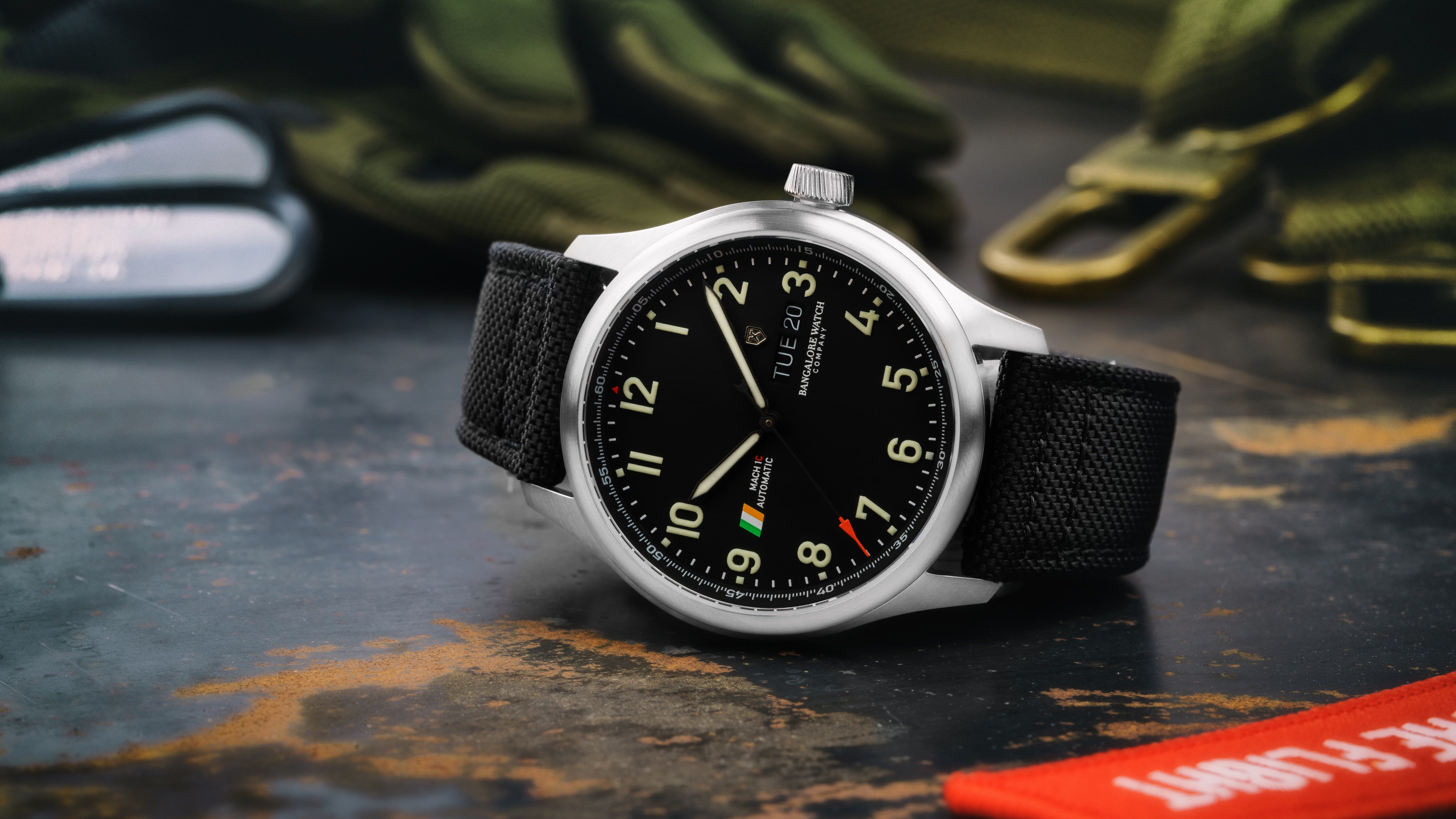 MACH 1 Collection fro Bangalore Watch Company