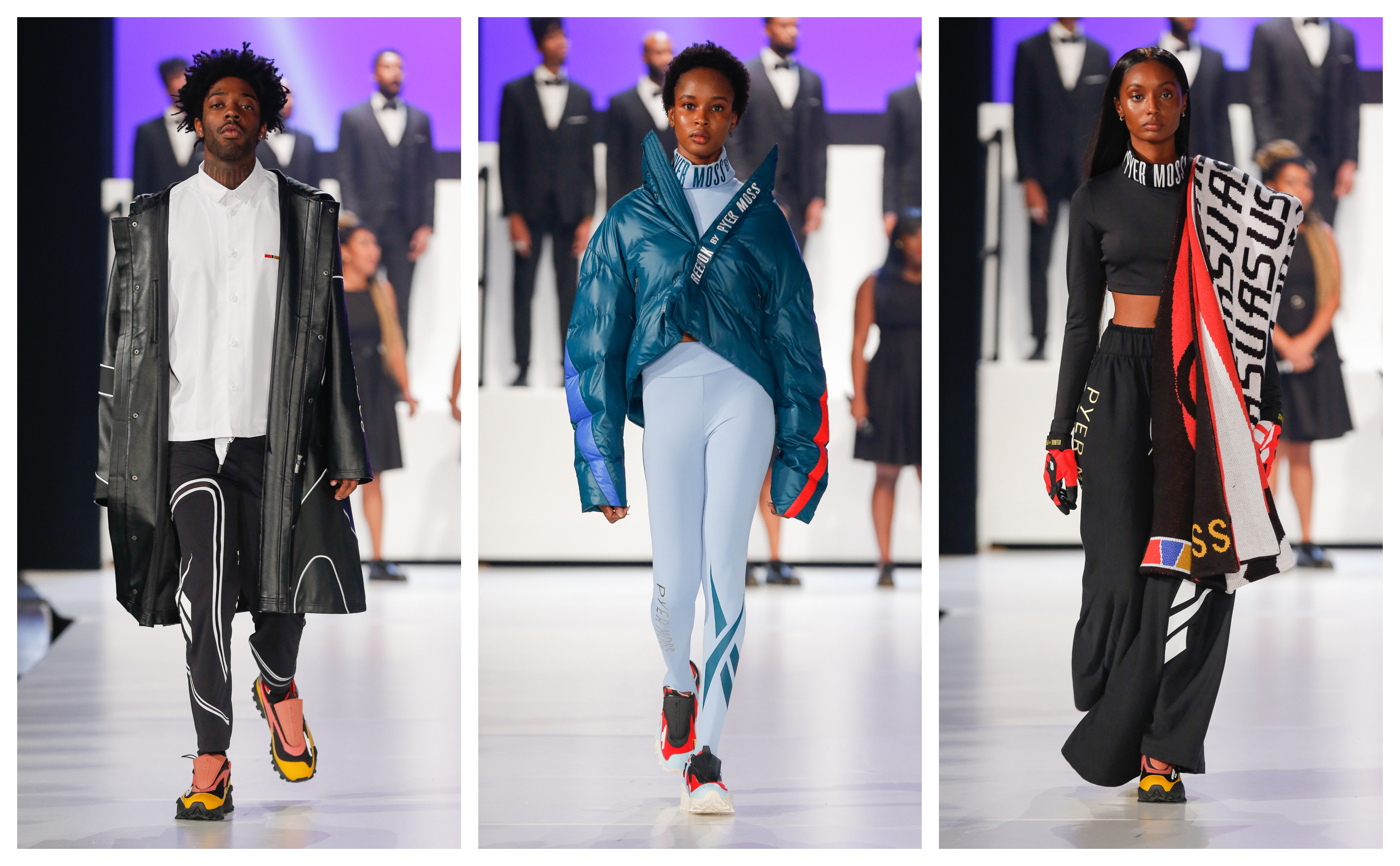 Looks from the Pyer Moss show