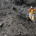 Women work at a coal mine in India.