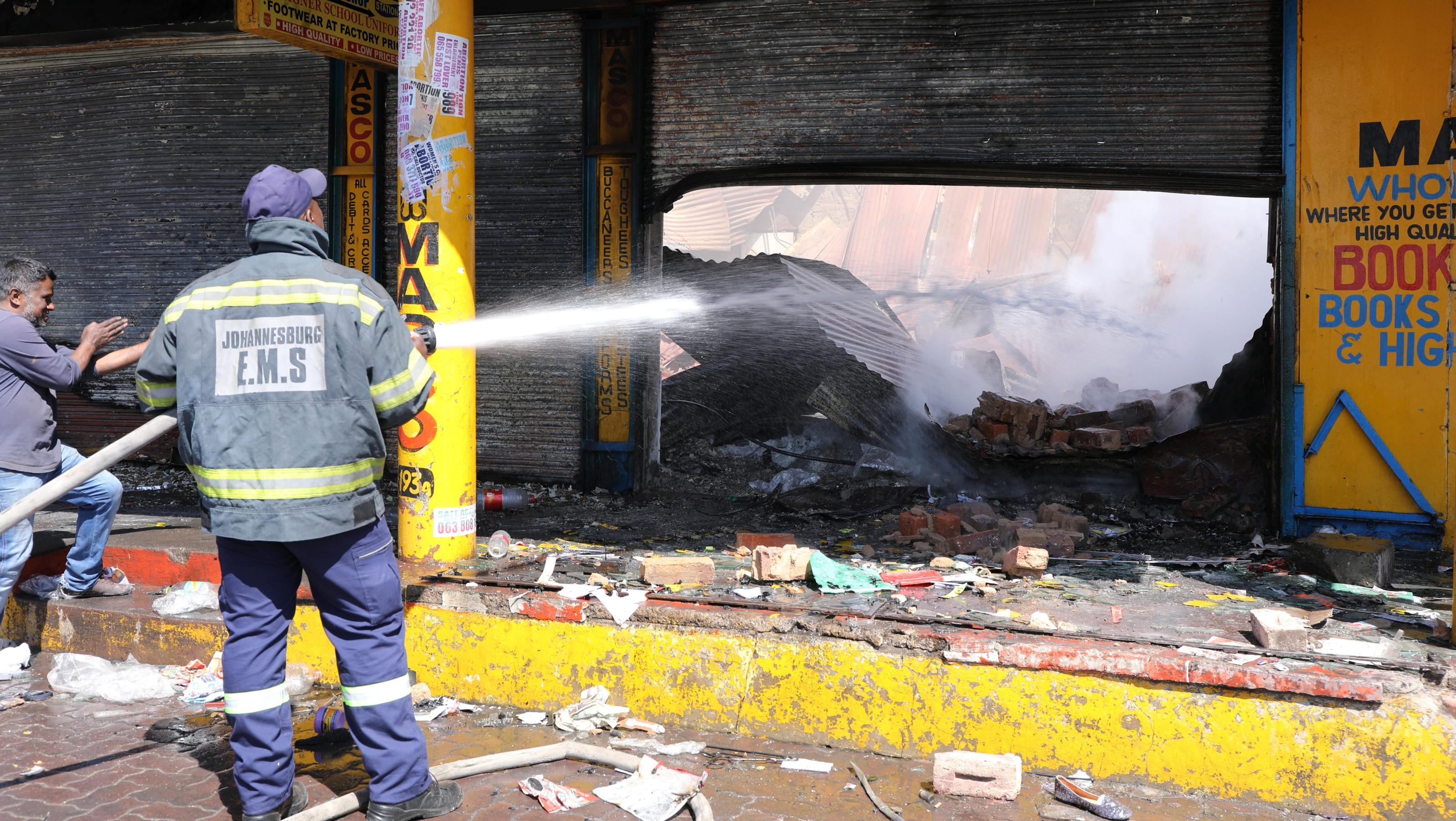 South Africa xenophobic attacks result in reprisals for MTN, Shoprite