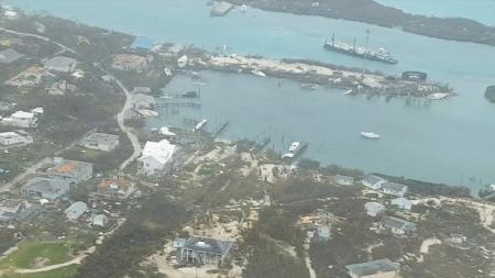 Destruction in Bahamas