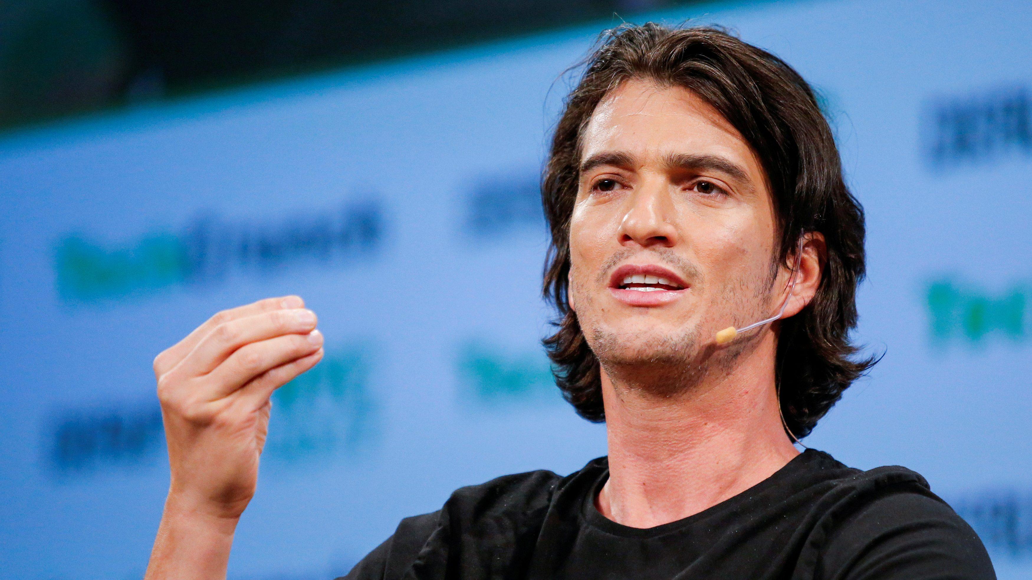 Adam Neumann of WeWork