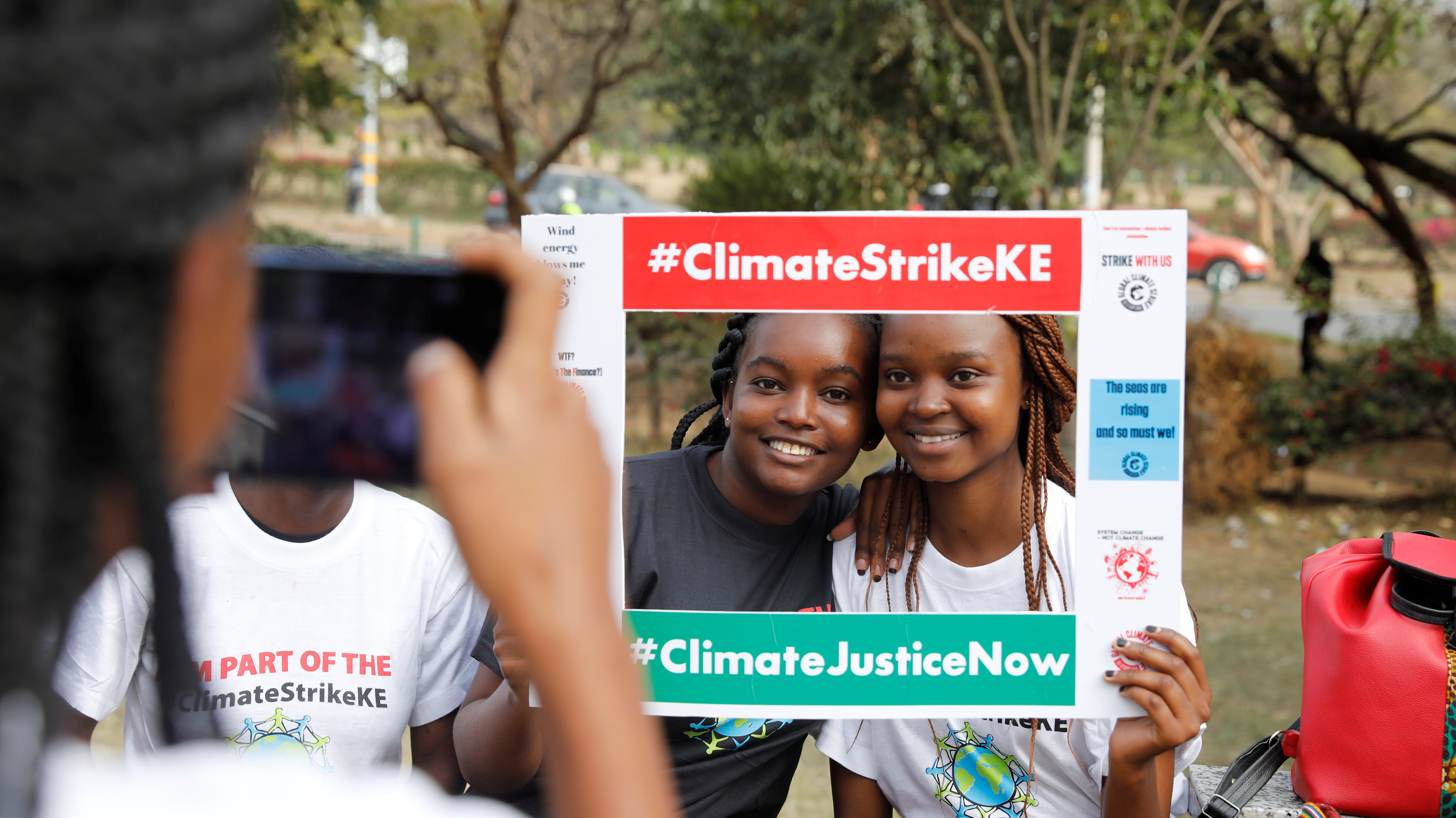 Climate Strike protests in Africa: Nairobi, Cape Town, Lagos