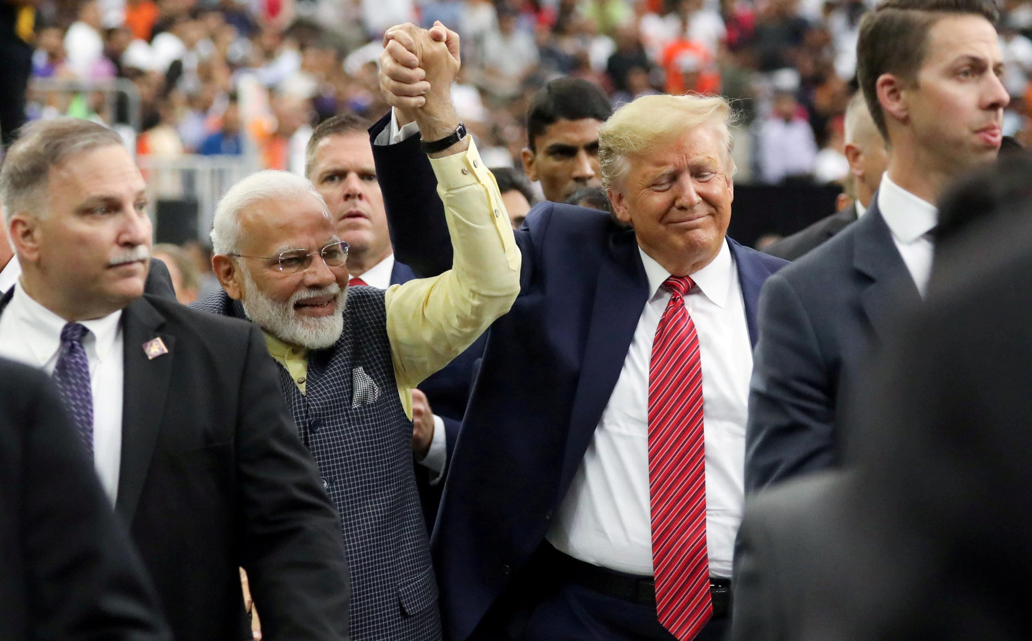 Howdy Modi roasts Pakistan in Trump's presence at Houston