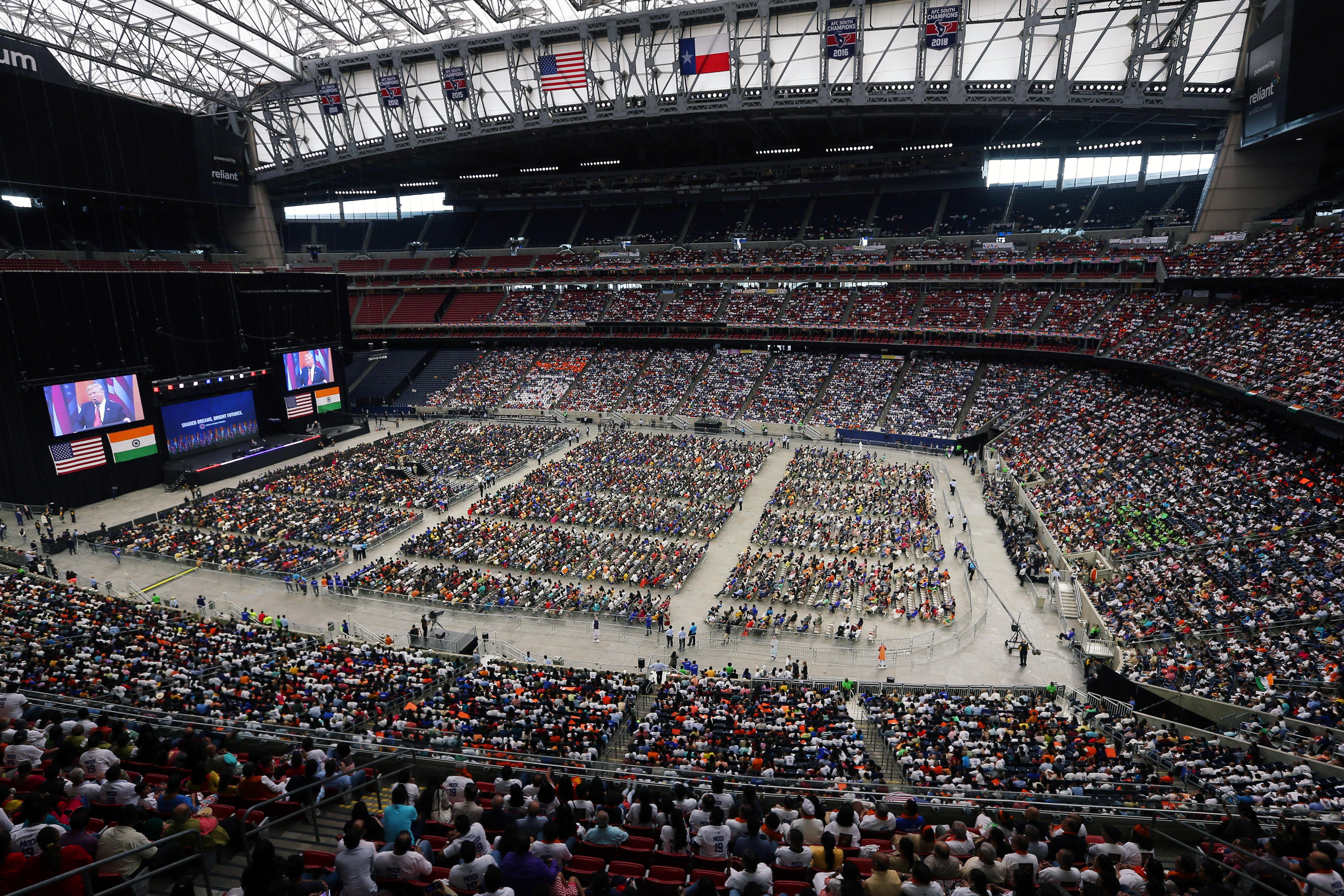 Modi-Trump-Houston