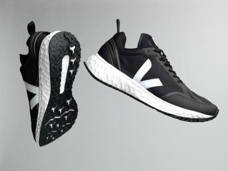 A black version of the shoe