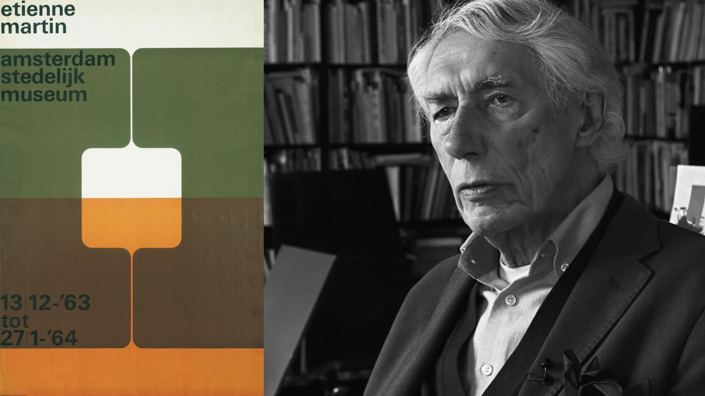 Wim Crouwel, the Dutch graphic-design legend who championed clarity above all, has died