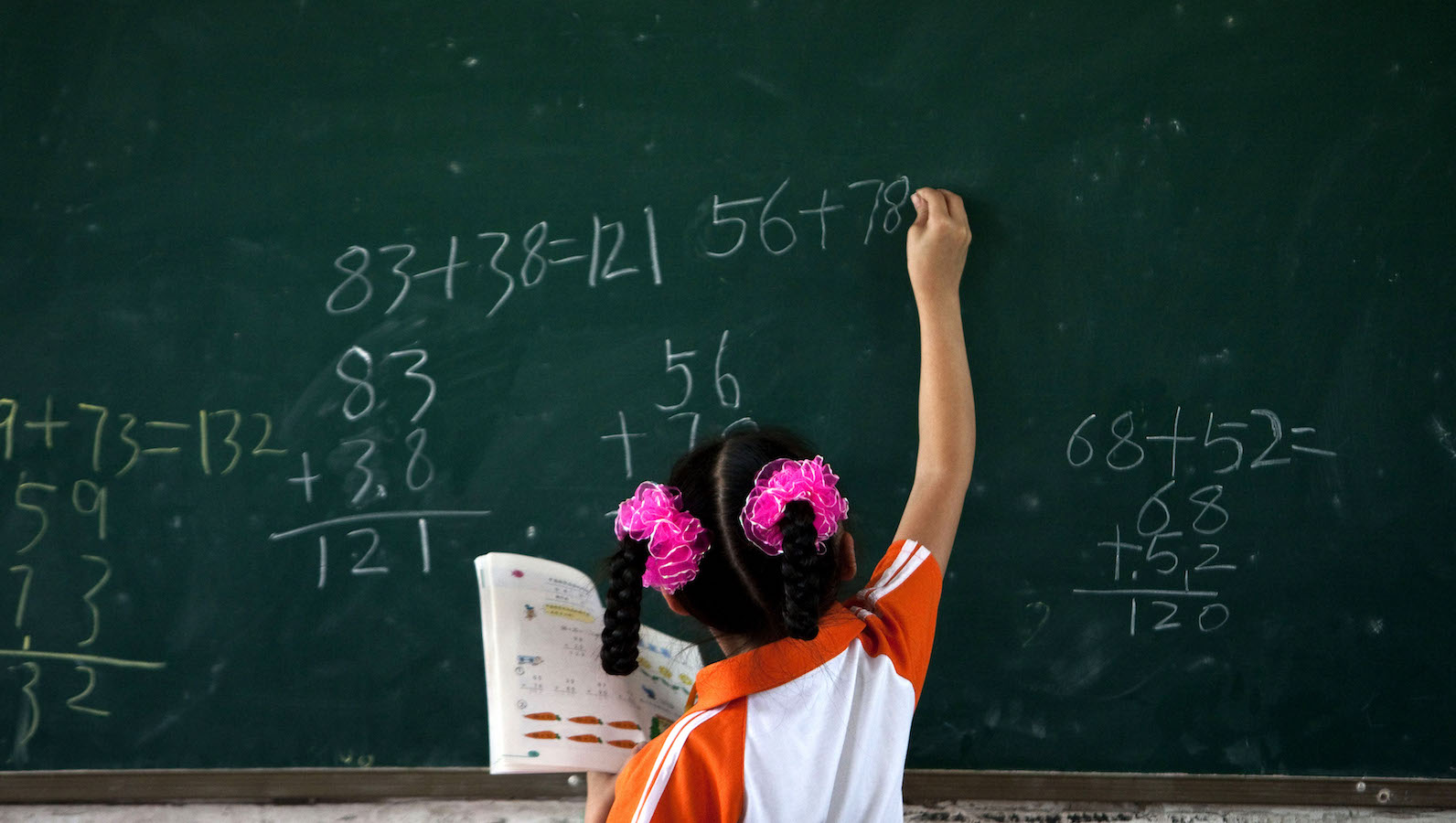 The STEM gender gap comes from girls' advantage in reading over math