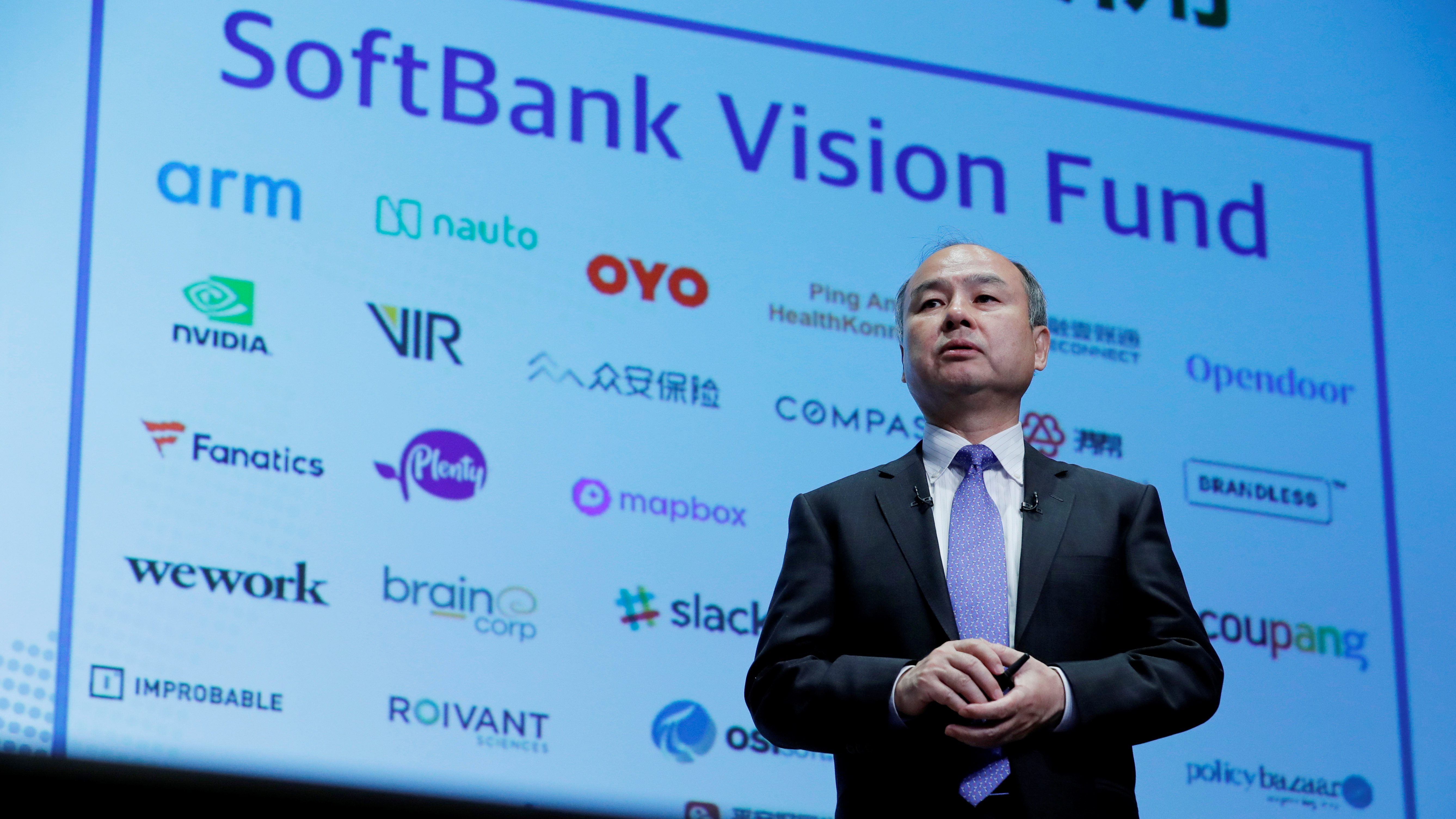 Japan's SoftBank Group Corp CEO Masayoshi Son