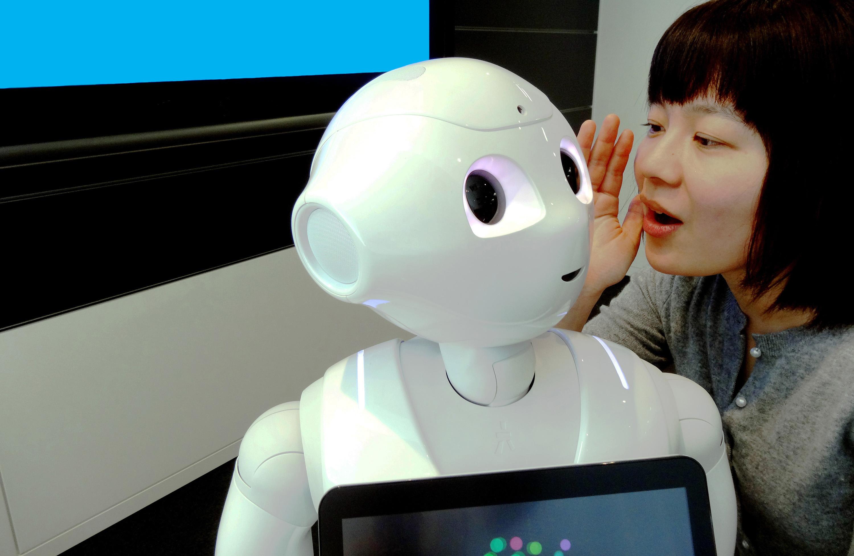 talking to robot