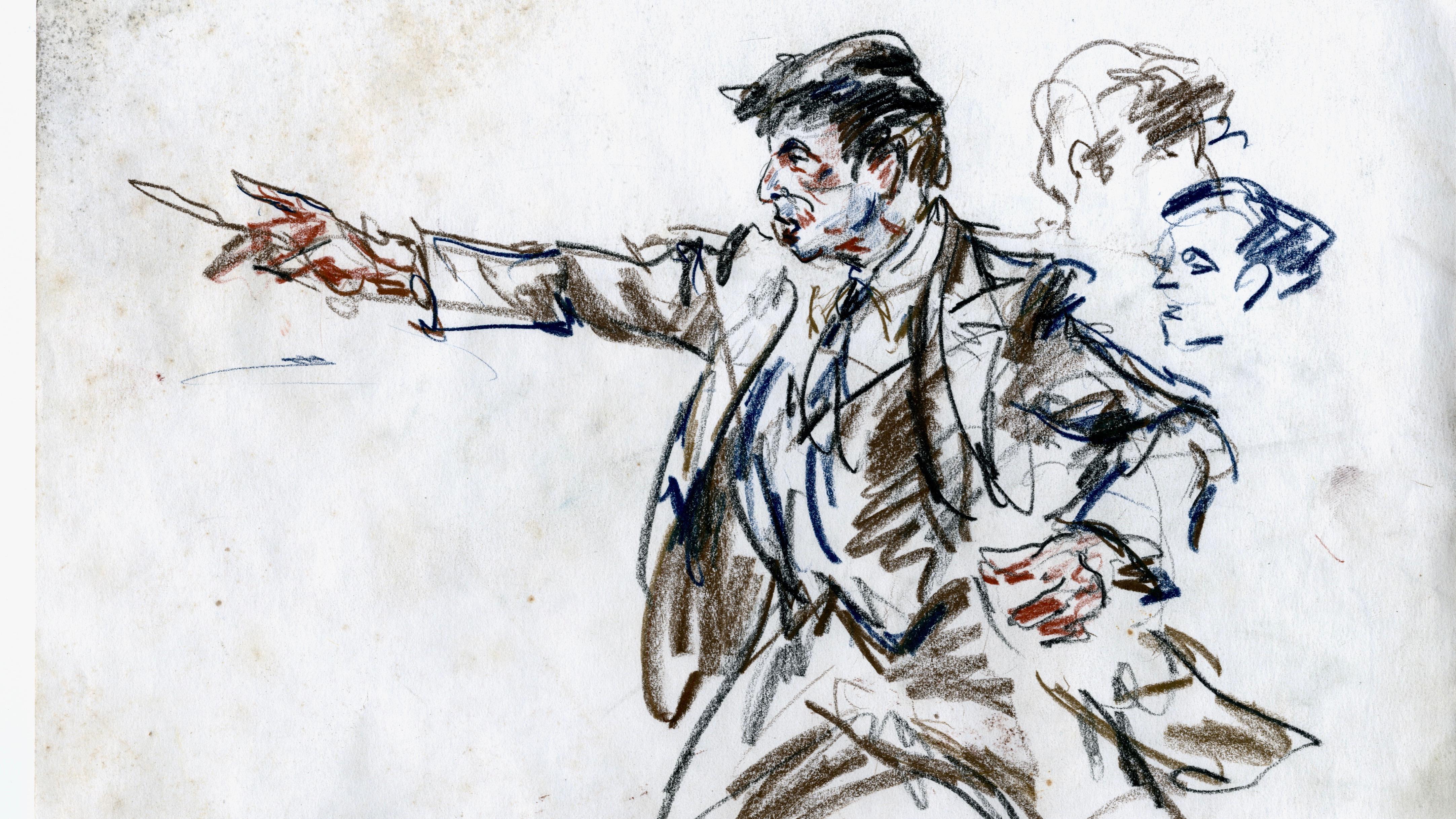 Supreme Court Sketch Artist Illuminates Courtroom Camera