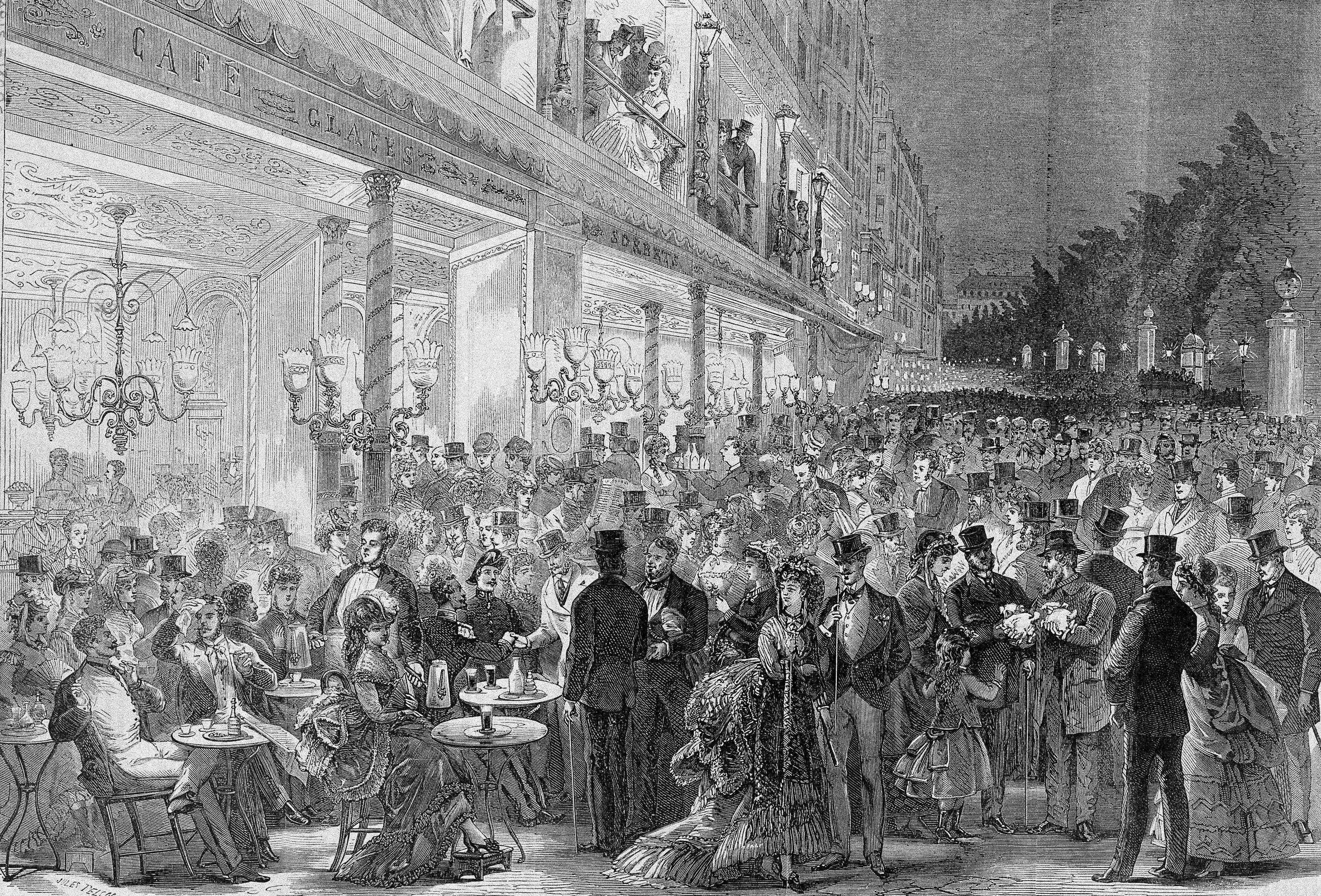 1863 paris france illustration