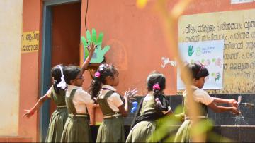 Pepe the robot handwashing monitor