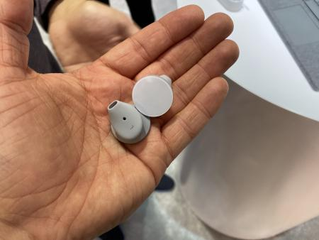 the Microsoft Earbuds