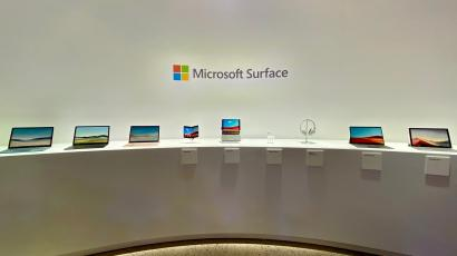 The new Microsoft Surface lineup