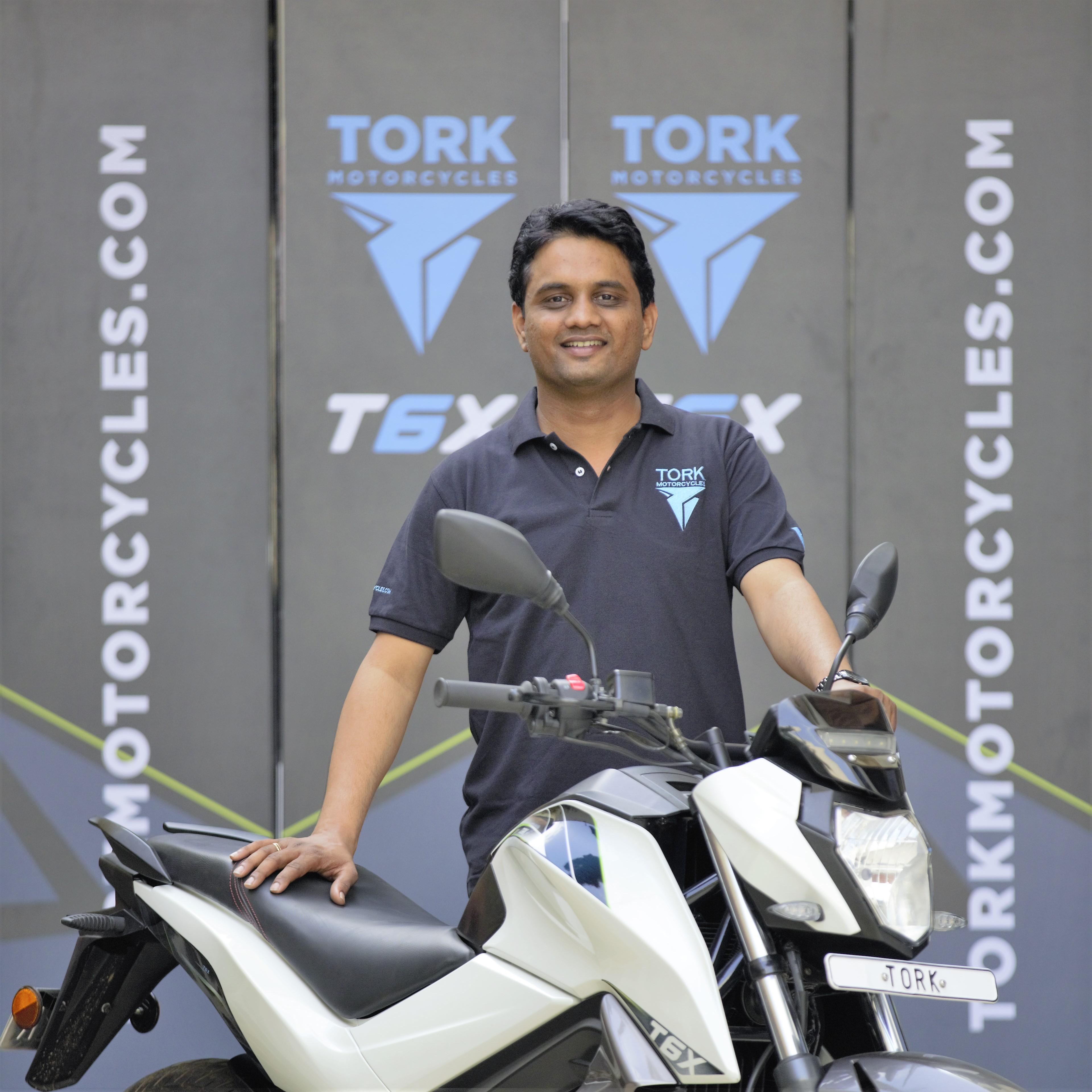 Tork Motors CEO Kapil Shelke