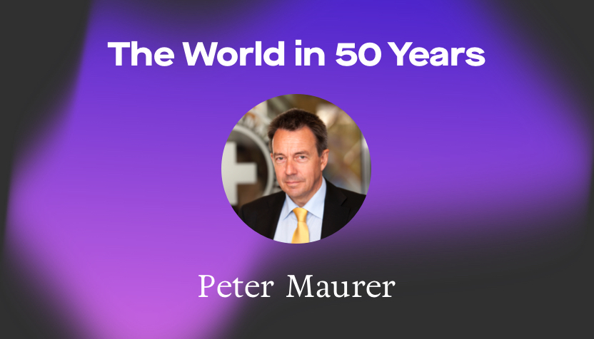 ICRC's Peter Maurer sees physical borders as unimportant in 2070