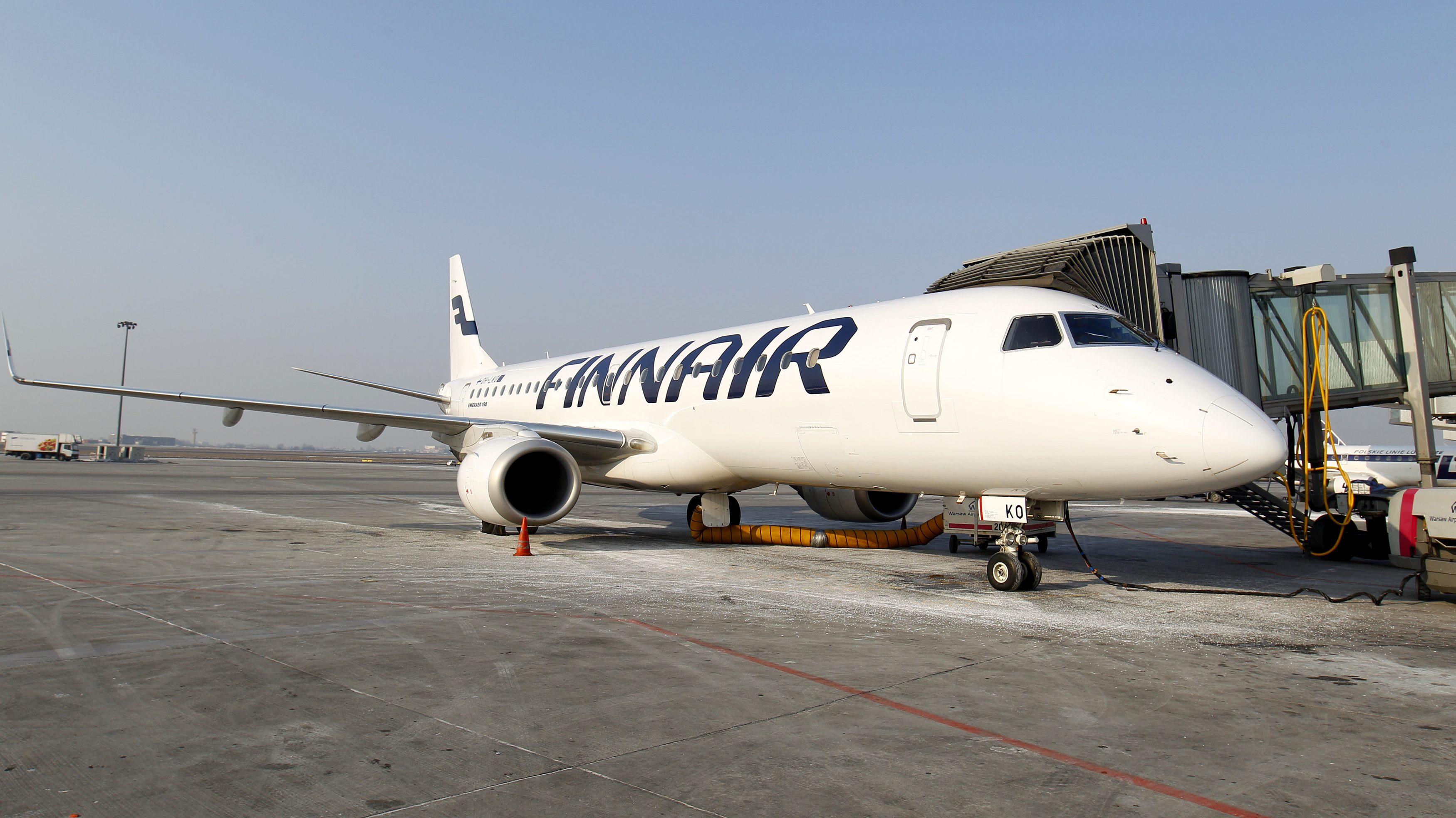 A Finnair jet