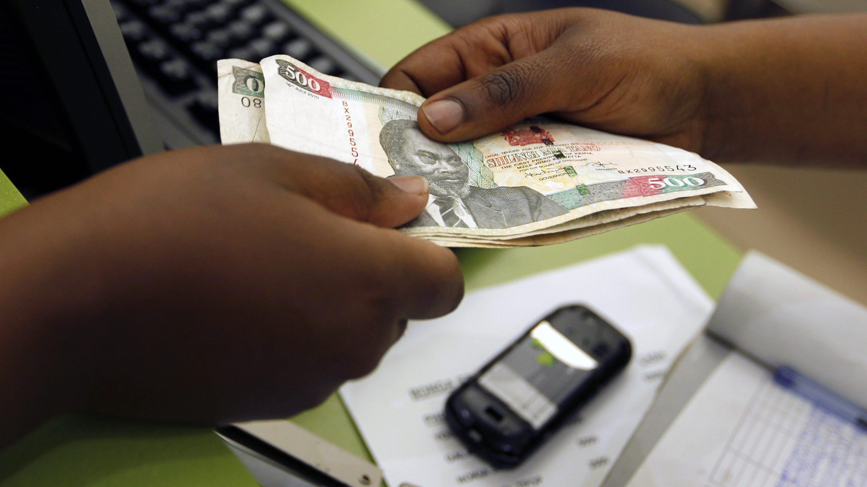 Mobile money lending in Kenya helps but also spikes debt