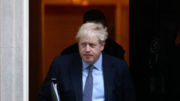 Britain's Prime Minister Boris Johnson leaves Downing Street to head for the House of Commons as parliament discusses Brexit, sitting on a Saturday for the first time since the 1982 Falklands War, in London, Britain, October 19, 2019.