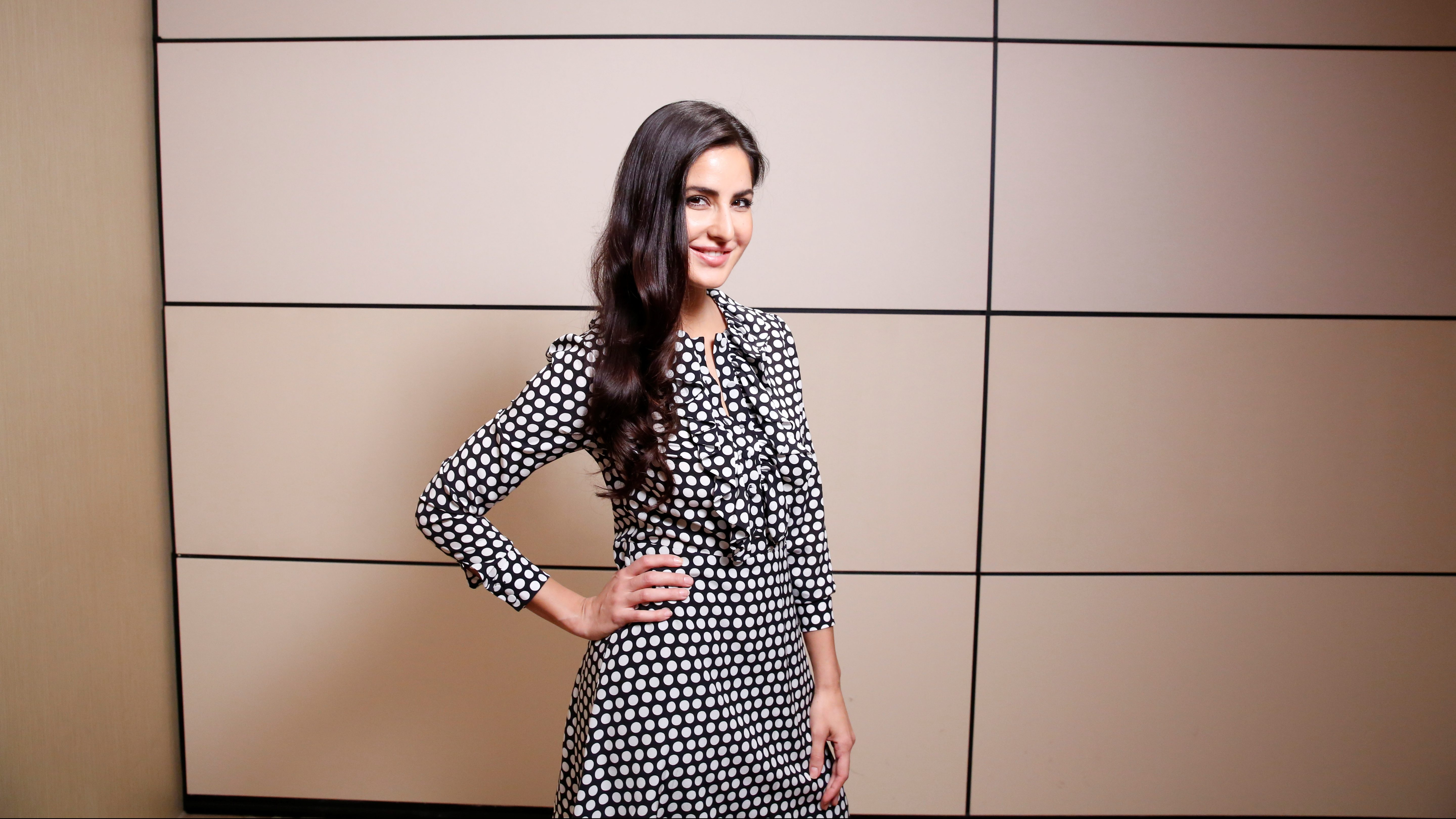 Bollywood film star Katrina Kaif poses for a portrait while promoting the film