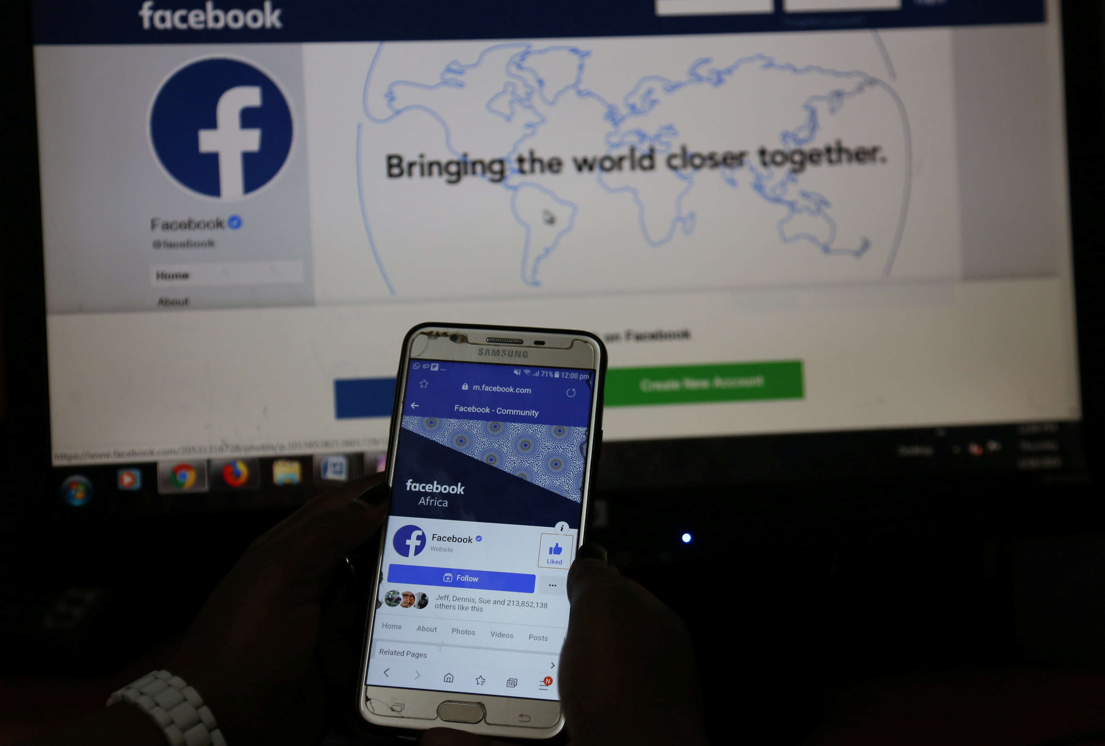 Facebook bans Russia accounts interfering in African elections