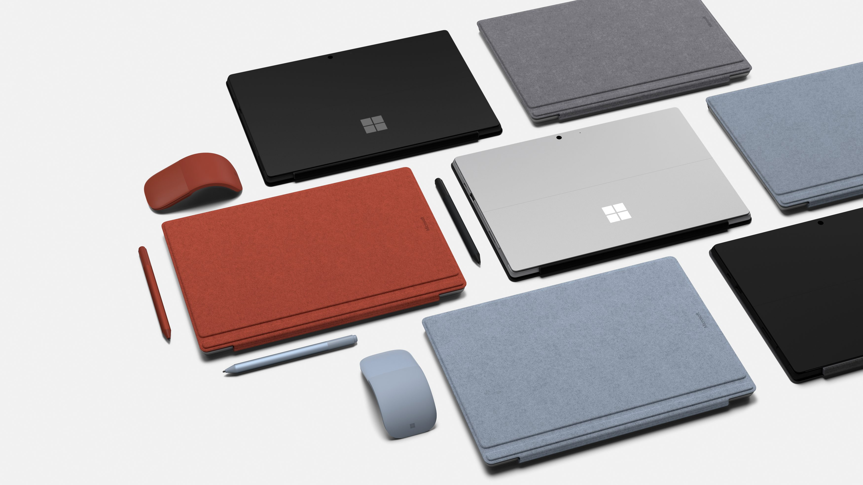 Microsoft's newest Surface devices.