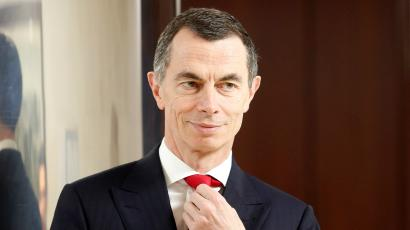 Unicredit bank Chief Executive Officer Jean Pierre Mustier