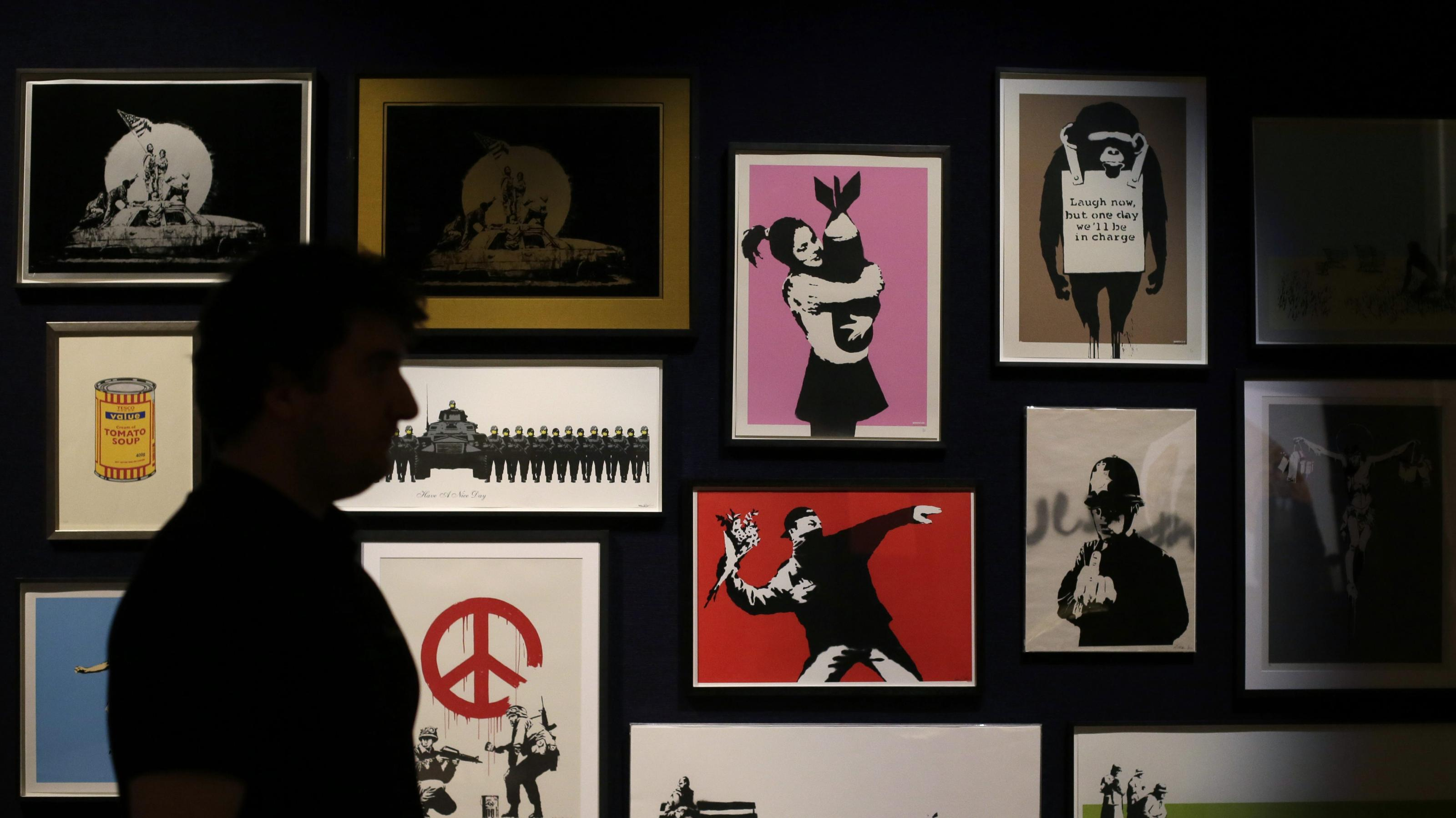 Banksy's trademark dispute with Full Colour Black could backfire
