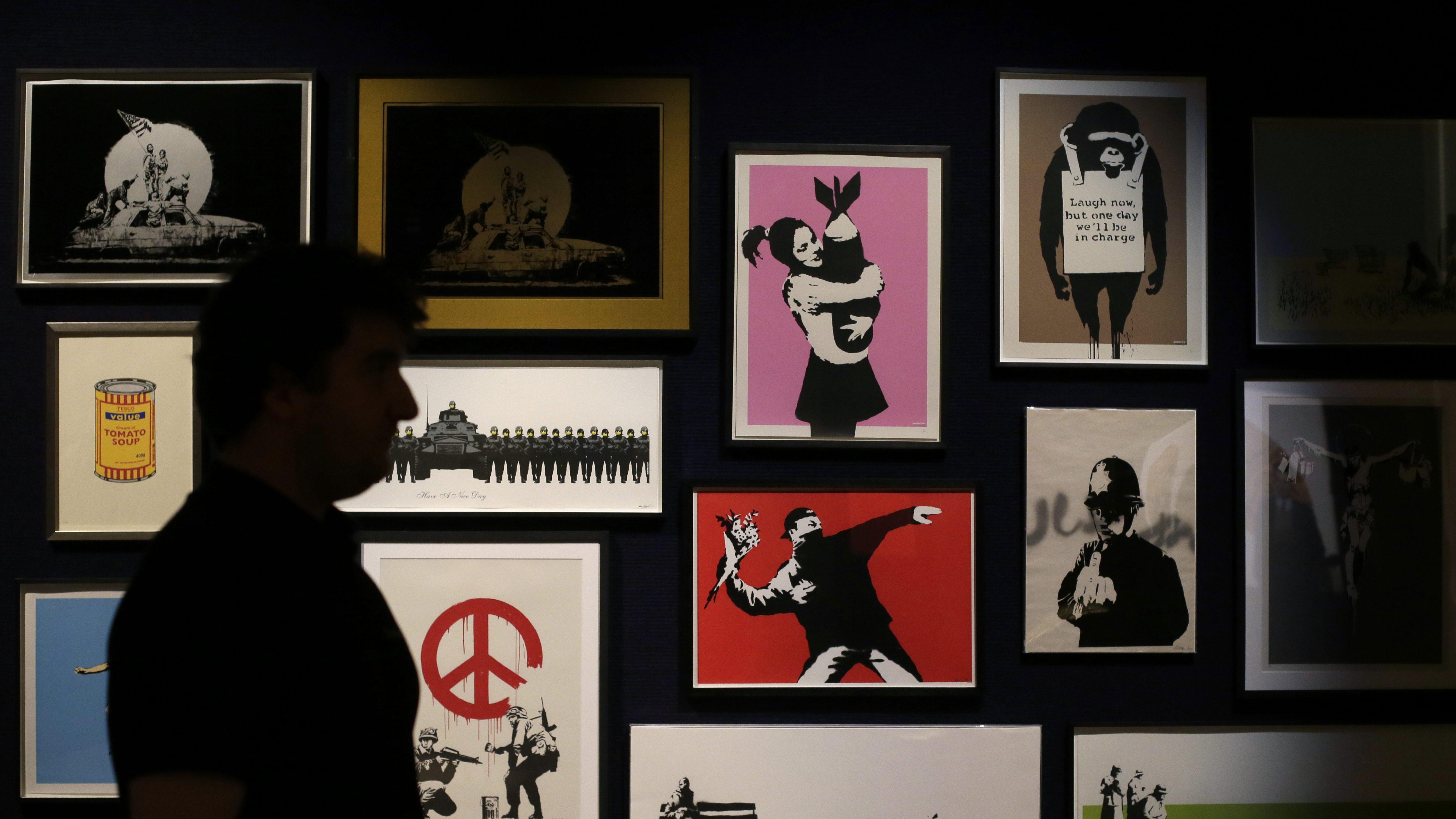 banksy prints gallery
