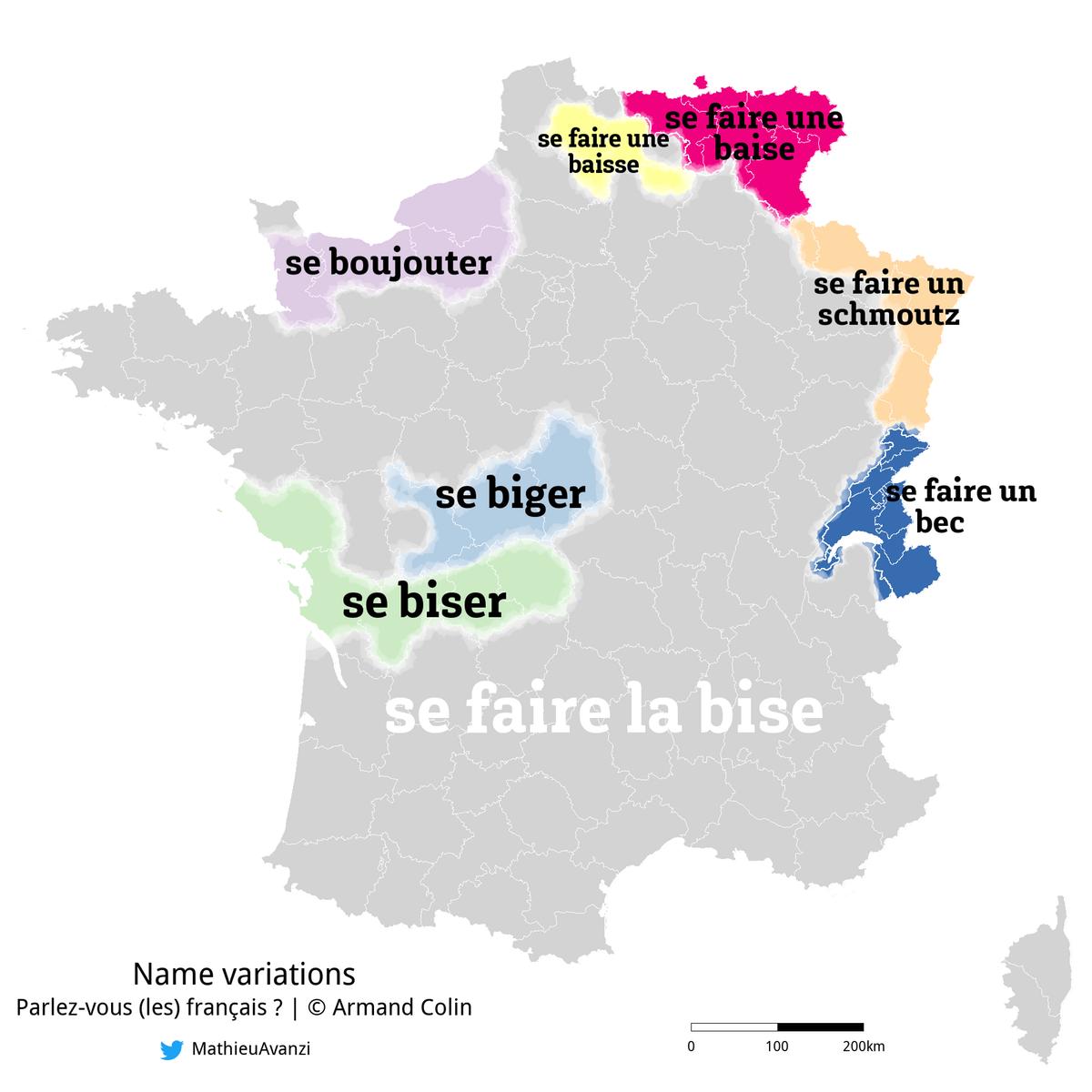 European kiss chart