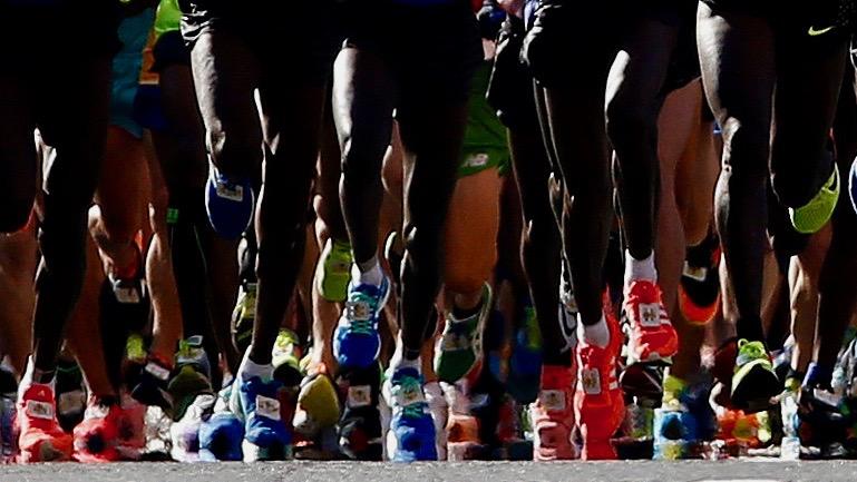 Marathoners.