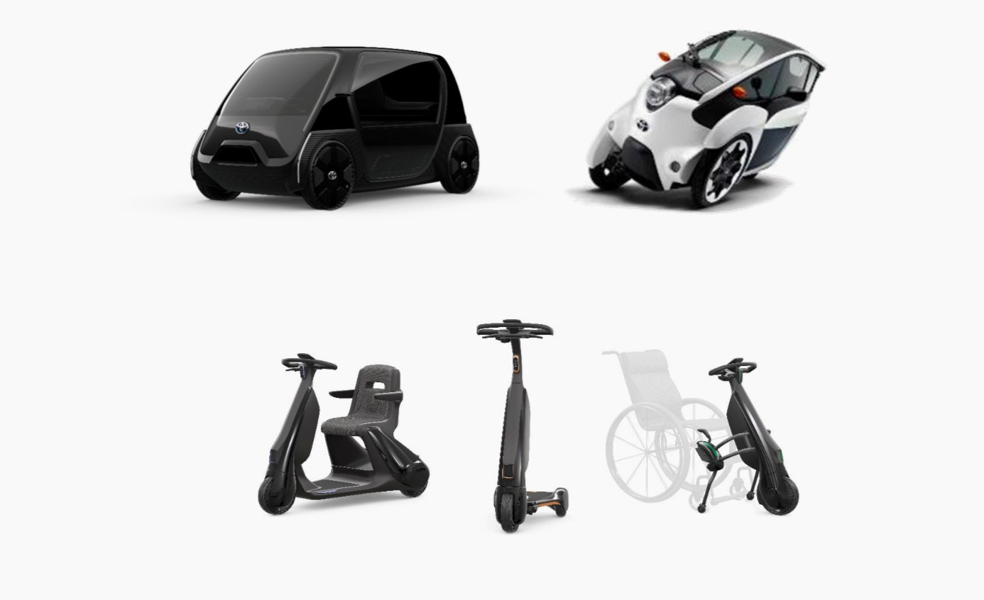 Toyota Debuts Very Very Tiny Electric Vehicles For 2020 Olympics