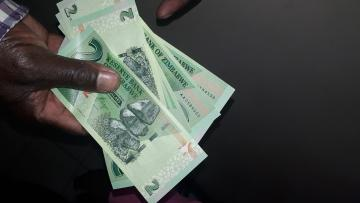 Cash in Zimbabwe