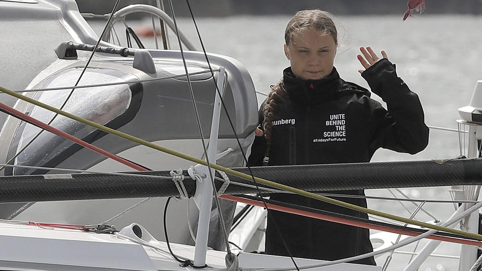 Greta Thunberg's options for crossing the Atlantic again — Quartz