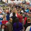 Black Friday Walmart shoppers search for deals in Arkansas.