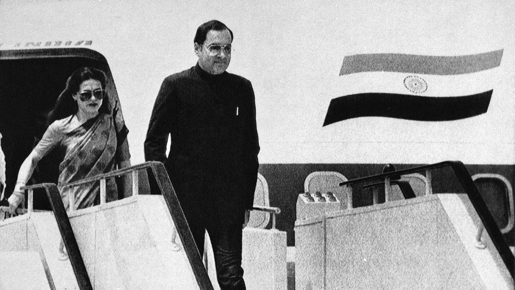 Rajiv Gandhi-Indira Gandhi-Prime Minister