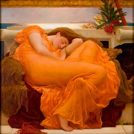 Flaming June by Lord Frederic Leighton - MAP