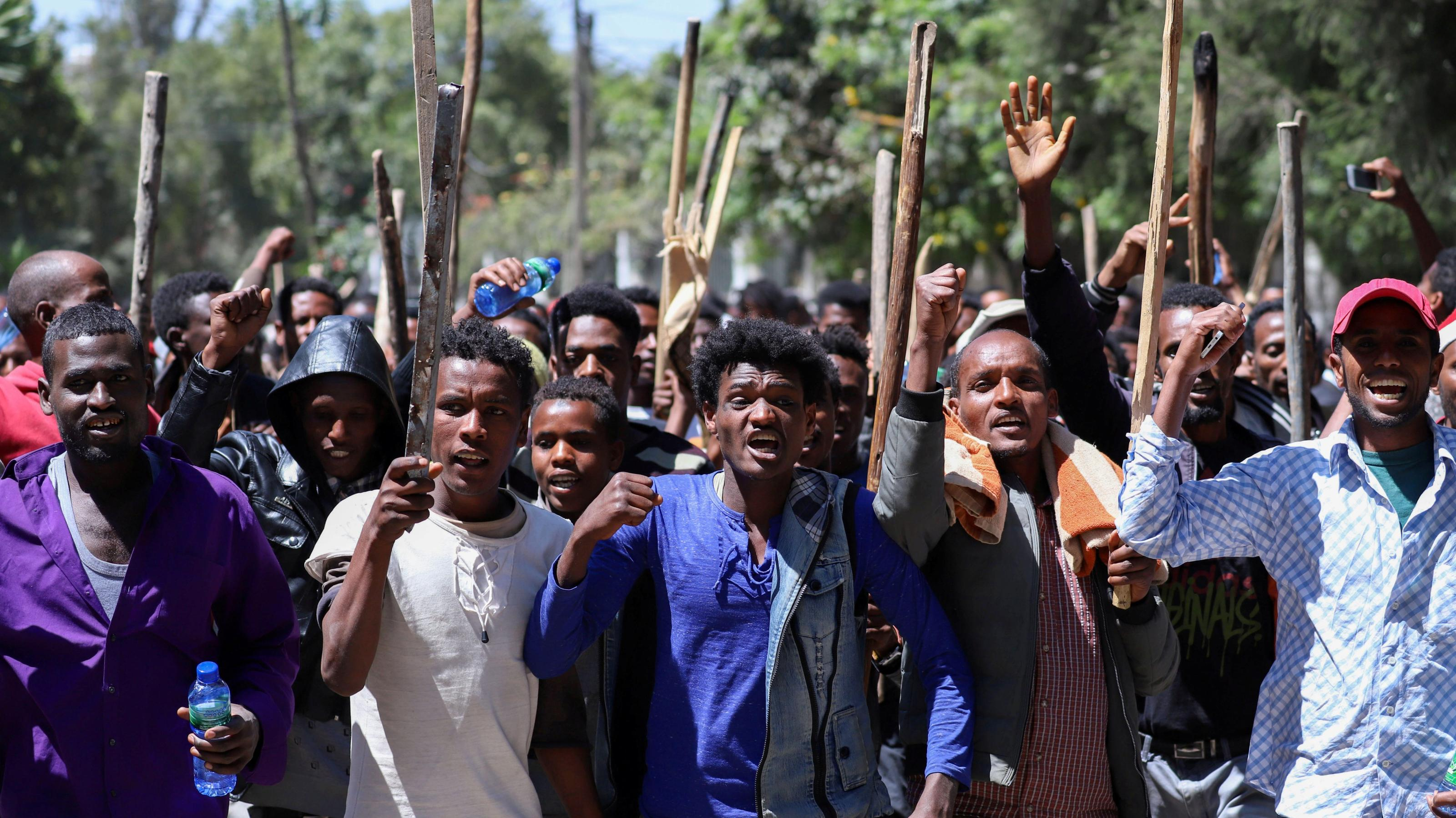 Ethiopia's Oromo protests over Jawar Mohammed, minorities rights