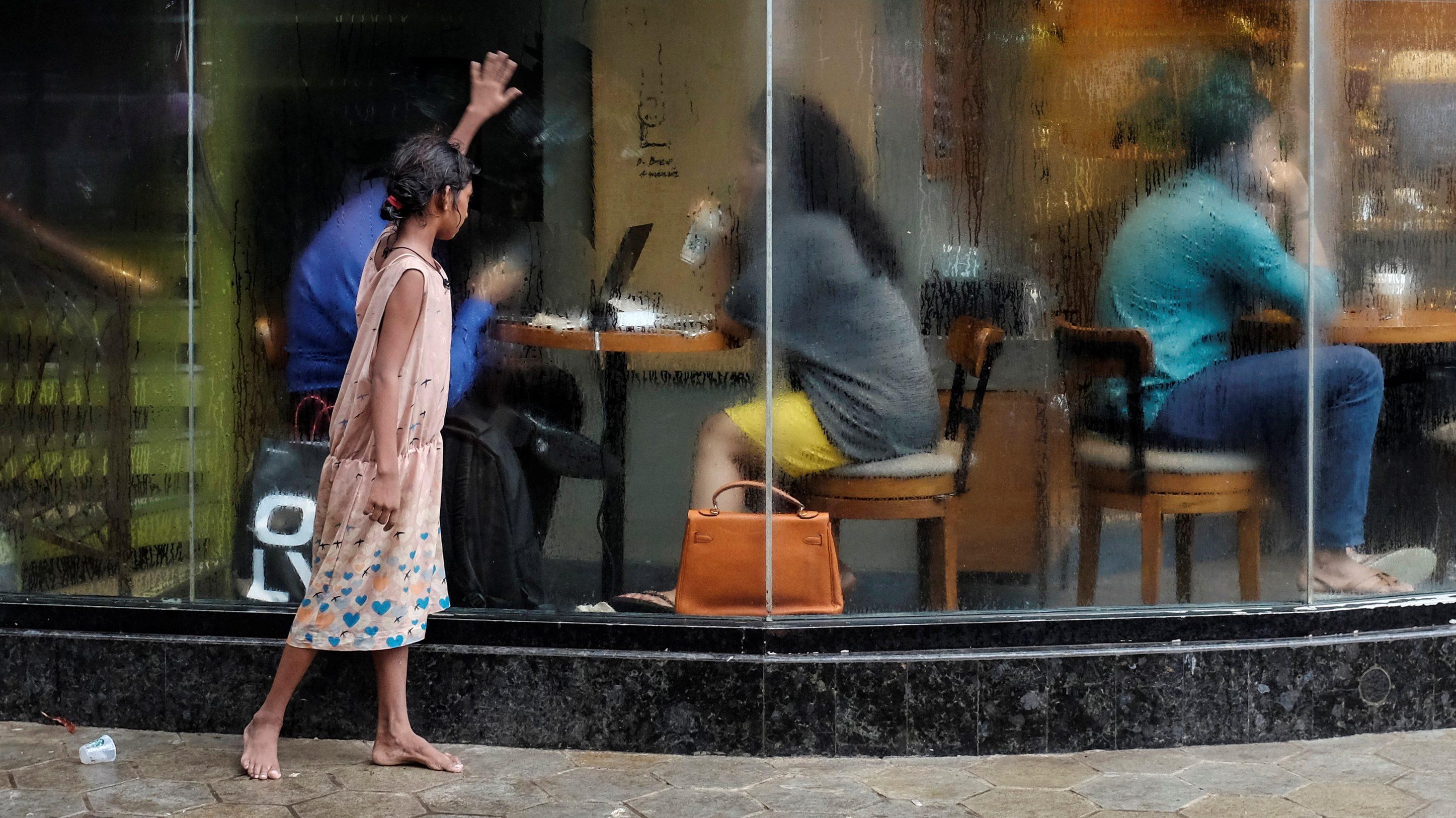 India-Income Ineqaulity-New Delhi-Mumbai